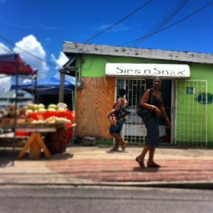 Bridgetown Barbados Street Food