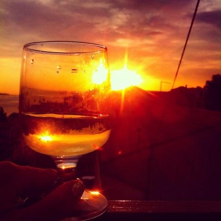 Sunset Hvar
