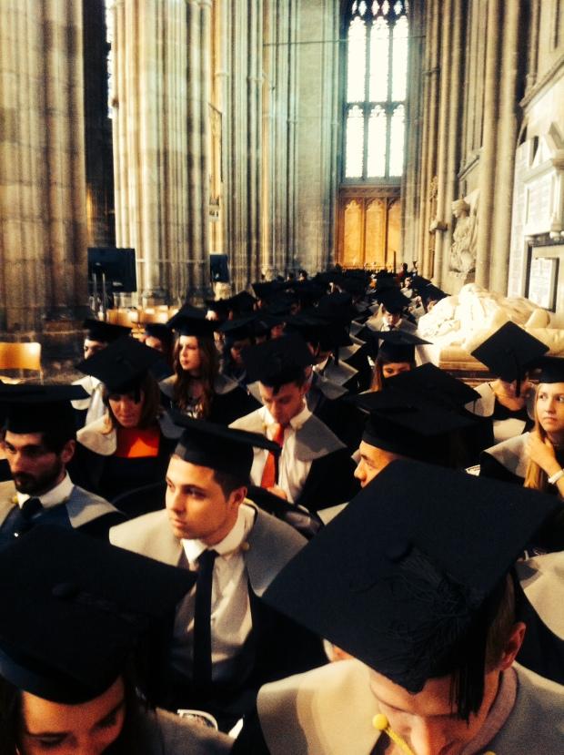 Canterbury Cathedral Graduation