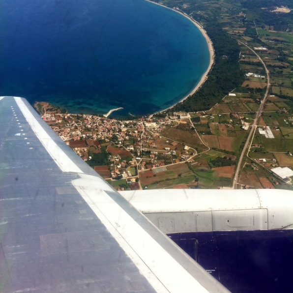 Greece Plane