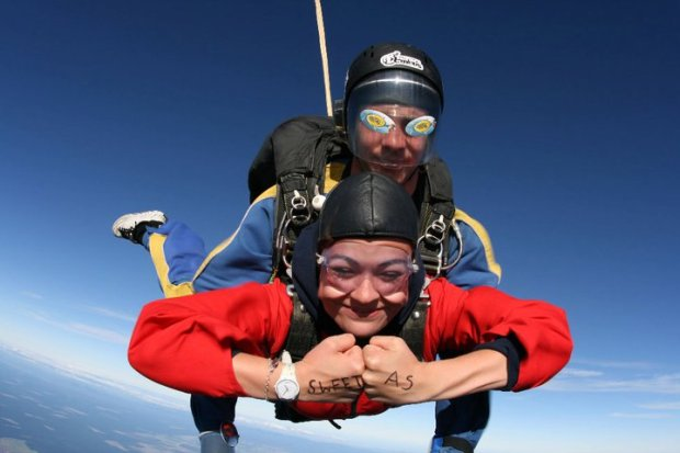Sky Diving New Zealand
