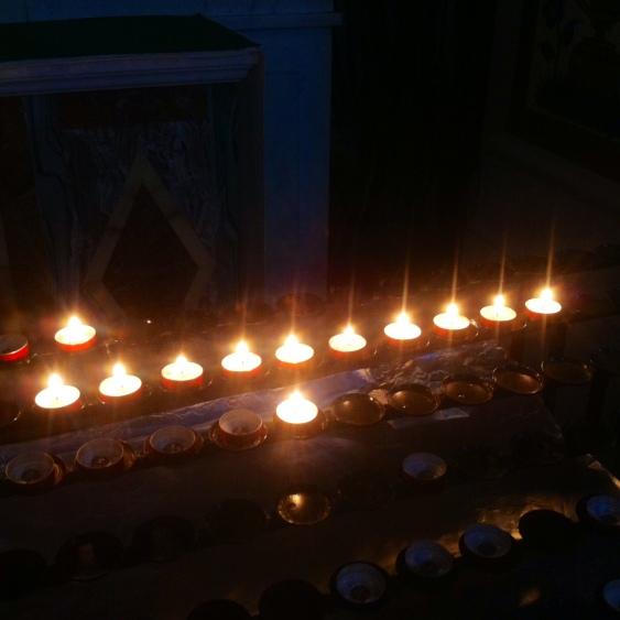 Catholic Church London Candles
