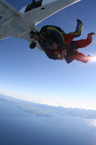 Sky Dive New Zealand