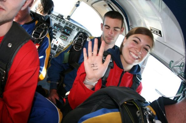 Lake Taupo Skydive Plane