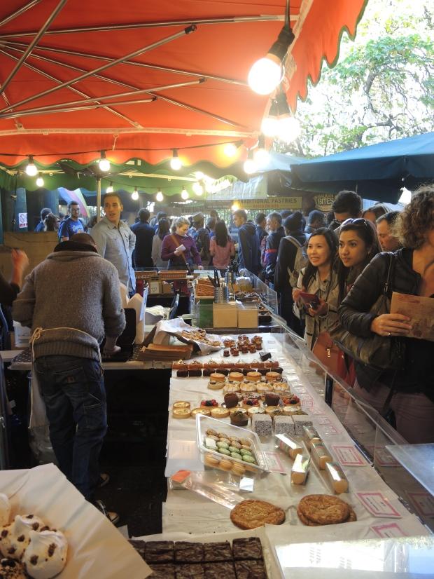 Borough Market Food Stalls