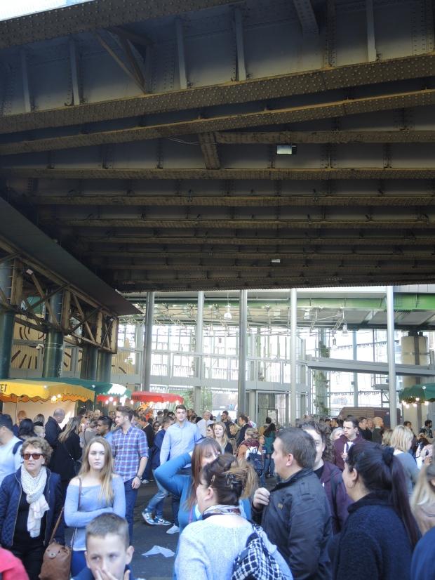 Borough Market Crowd
