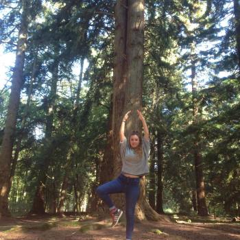 Yoga Tree Pose New Forest