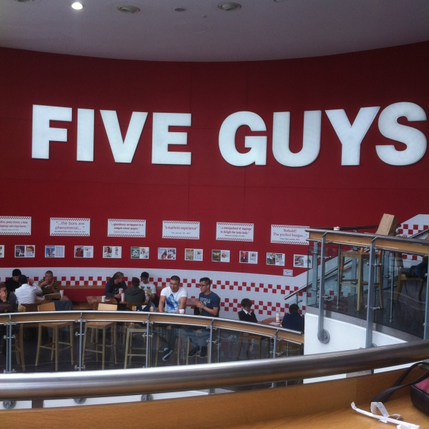 Five Guys Reading
