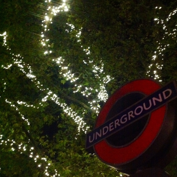 London Underground Christmas