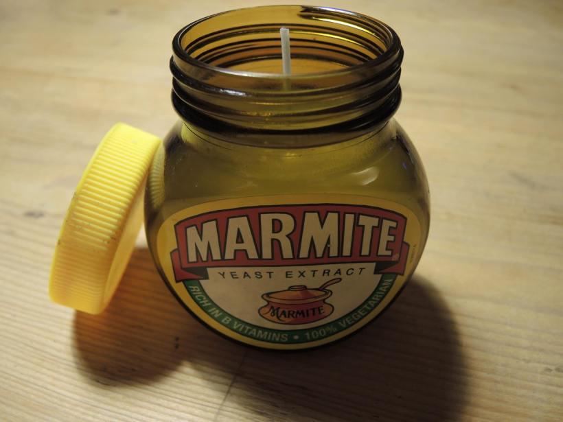 Marmite Jar Candle