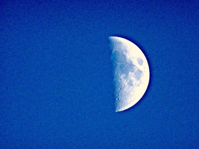 Moon Close-Up Photography