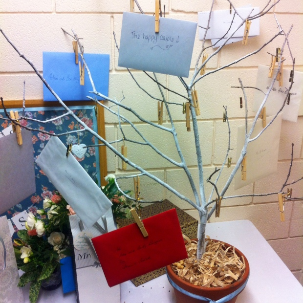 Wedding Card Tree