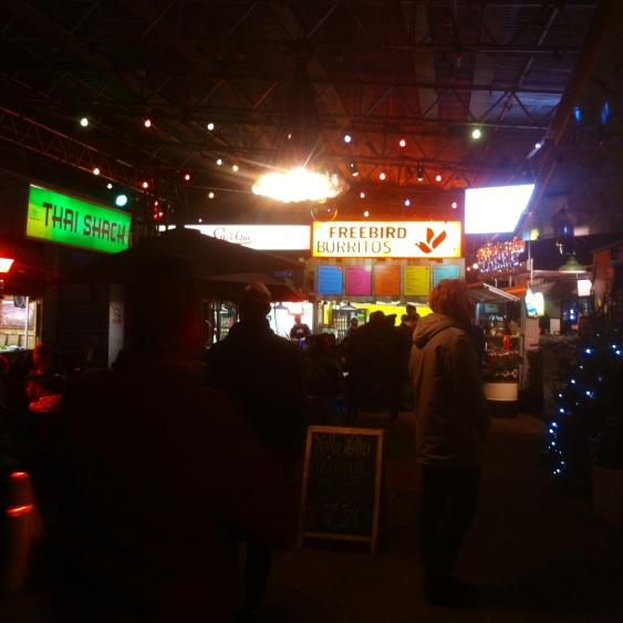 Food Market Stalls Shoreditch
