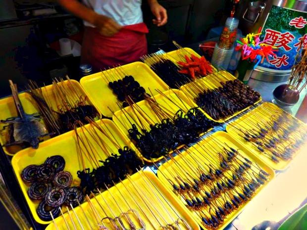 Street Food Beijing Bugs