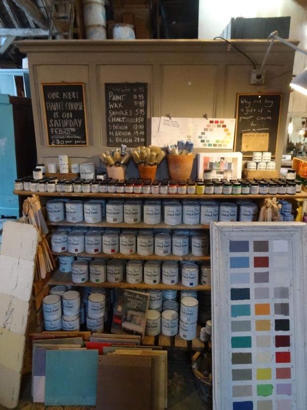 paint antique shop