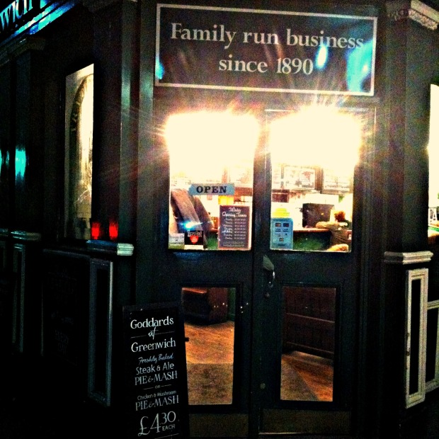 Pie and Mash Shop Greenwich