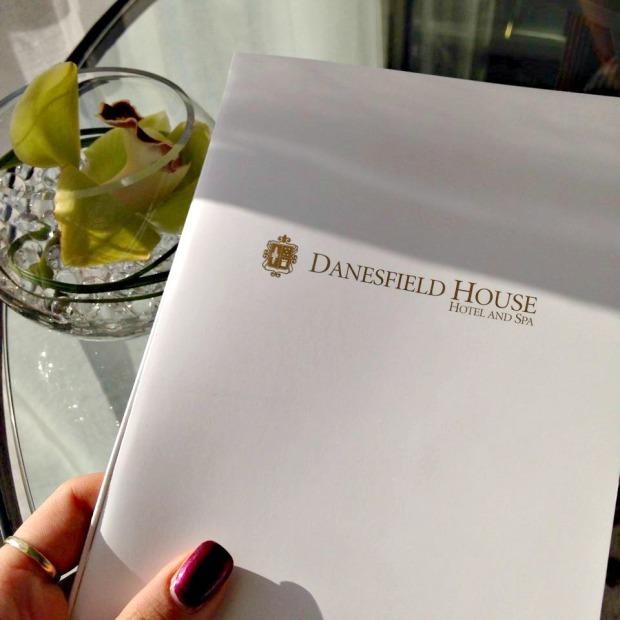 Danesfield House Menu