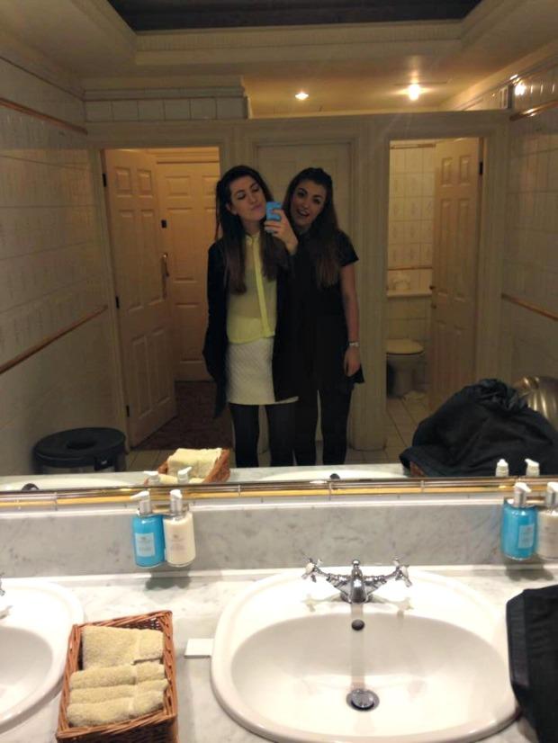 Danesfield House Bathroom Selfie