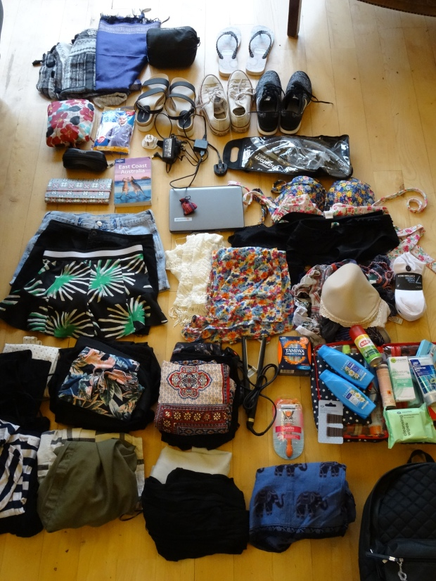 Packing for Backpacking