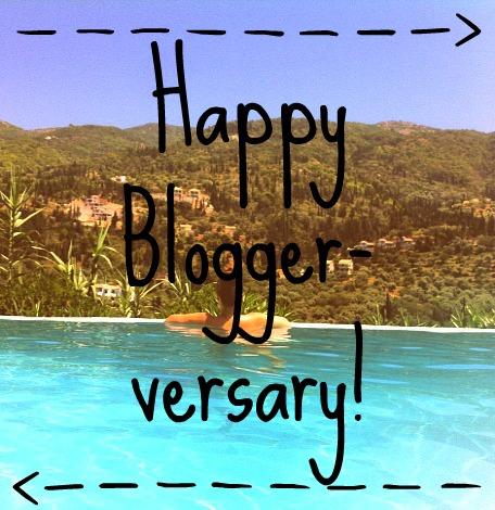 Happy Bloggerversary