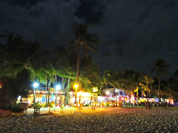 3 Boracay Beach at Night