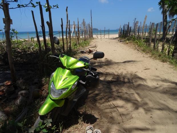 El Nido moped 6
