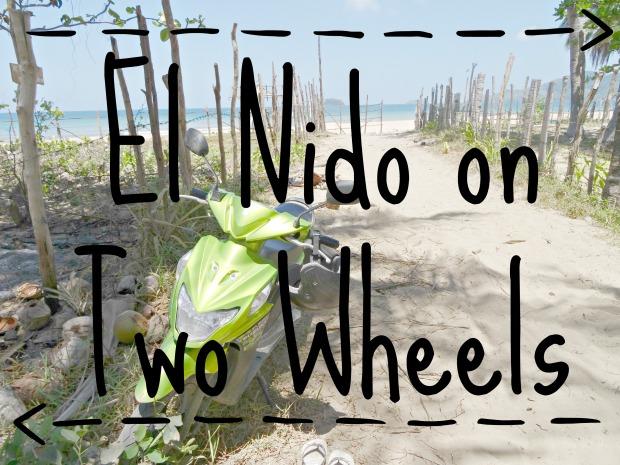 El Nido moped 1