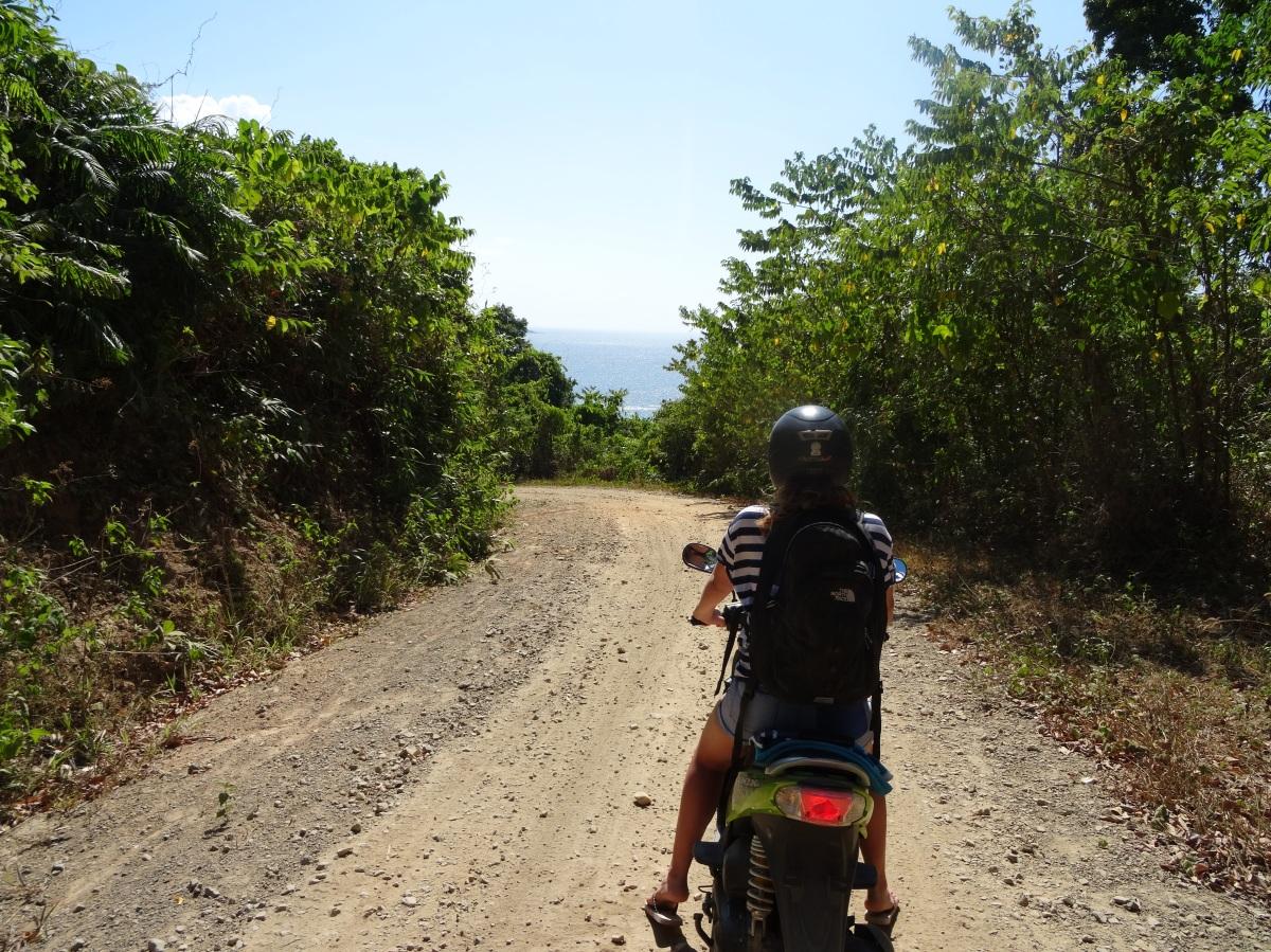 El Nido moped 3
