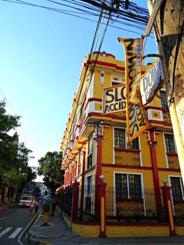 manila old town colour