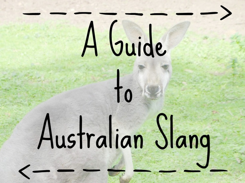 Guide to australian slang